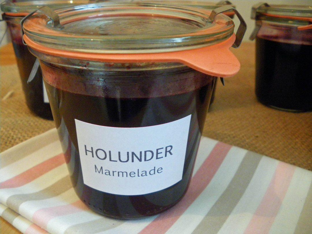 Rezepte - Dips & Marmelade - Holundergelee - weizenfrei & vegan