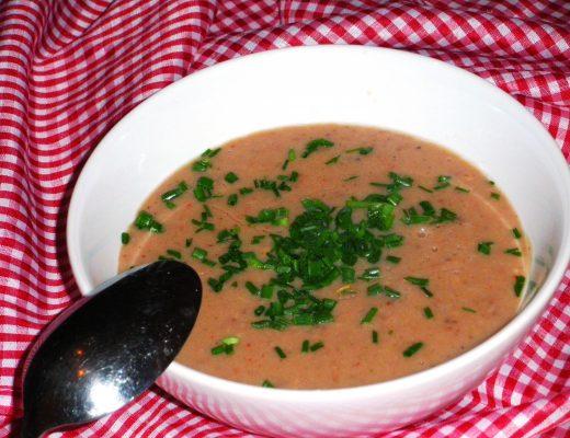 Rezepte - Suppe - Kastaniensuppe - weizenfrei & vegan