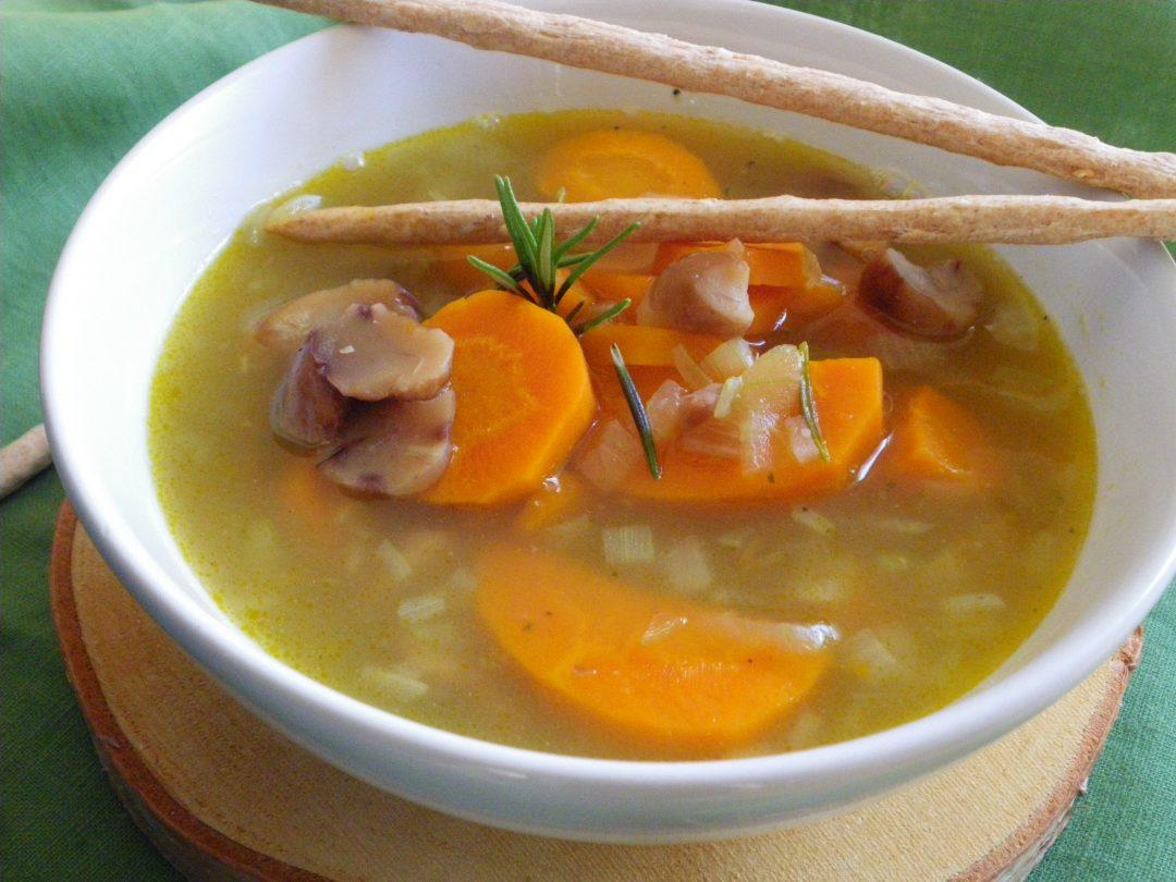 Rezept - Suppe - Eintopf - Möhren-Maronen Suppe - vollwertig, clean eating & glutenfrei
