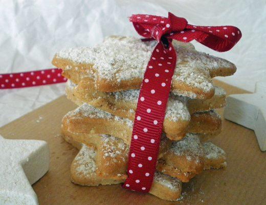 Rezepte - Plätzchen & Kekse - Vanillesterne - weizenfrei - kaseinfrei
