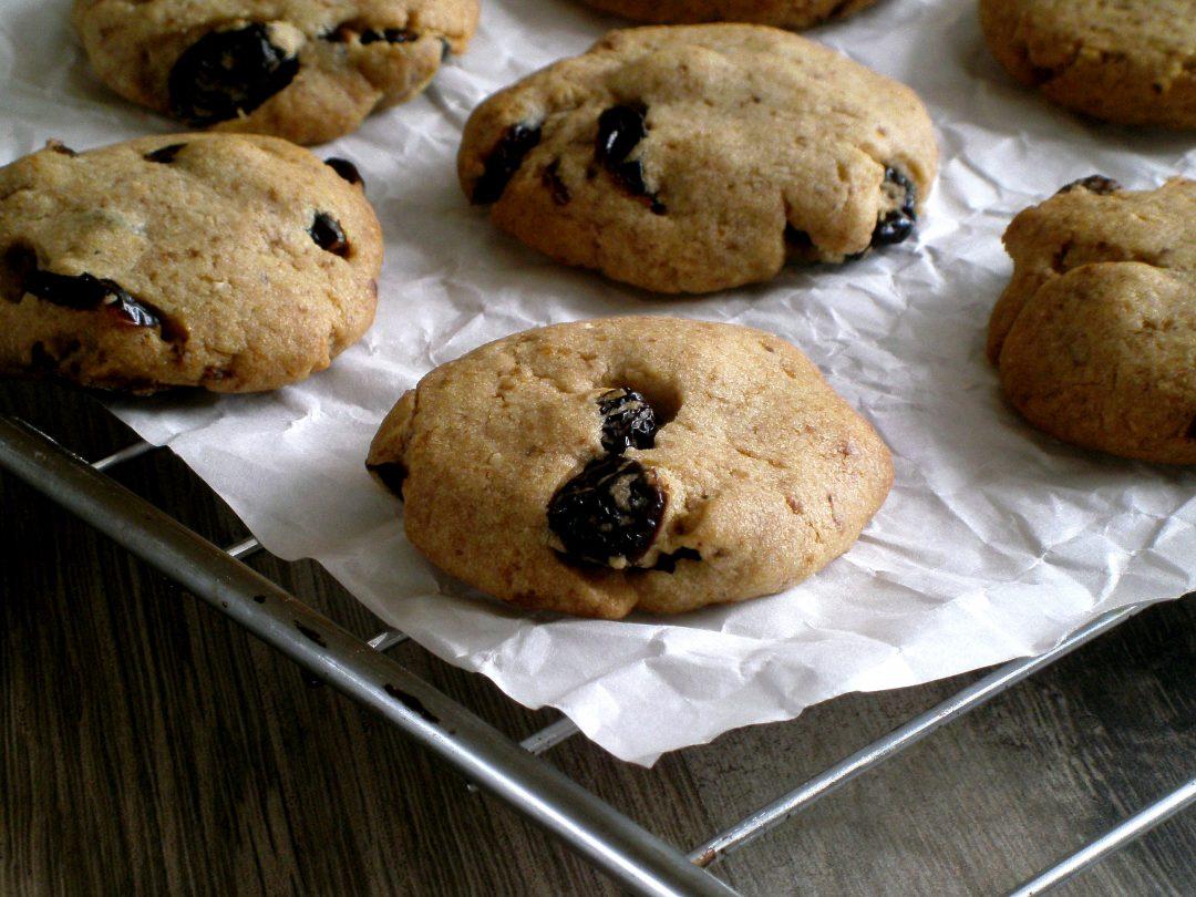 Rezepte - Backen - Plätzchen - Cookies - Kekse - Mandeln - Cranberry