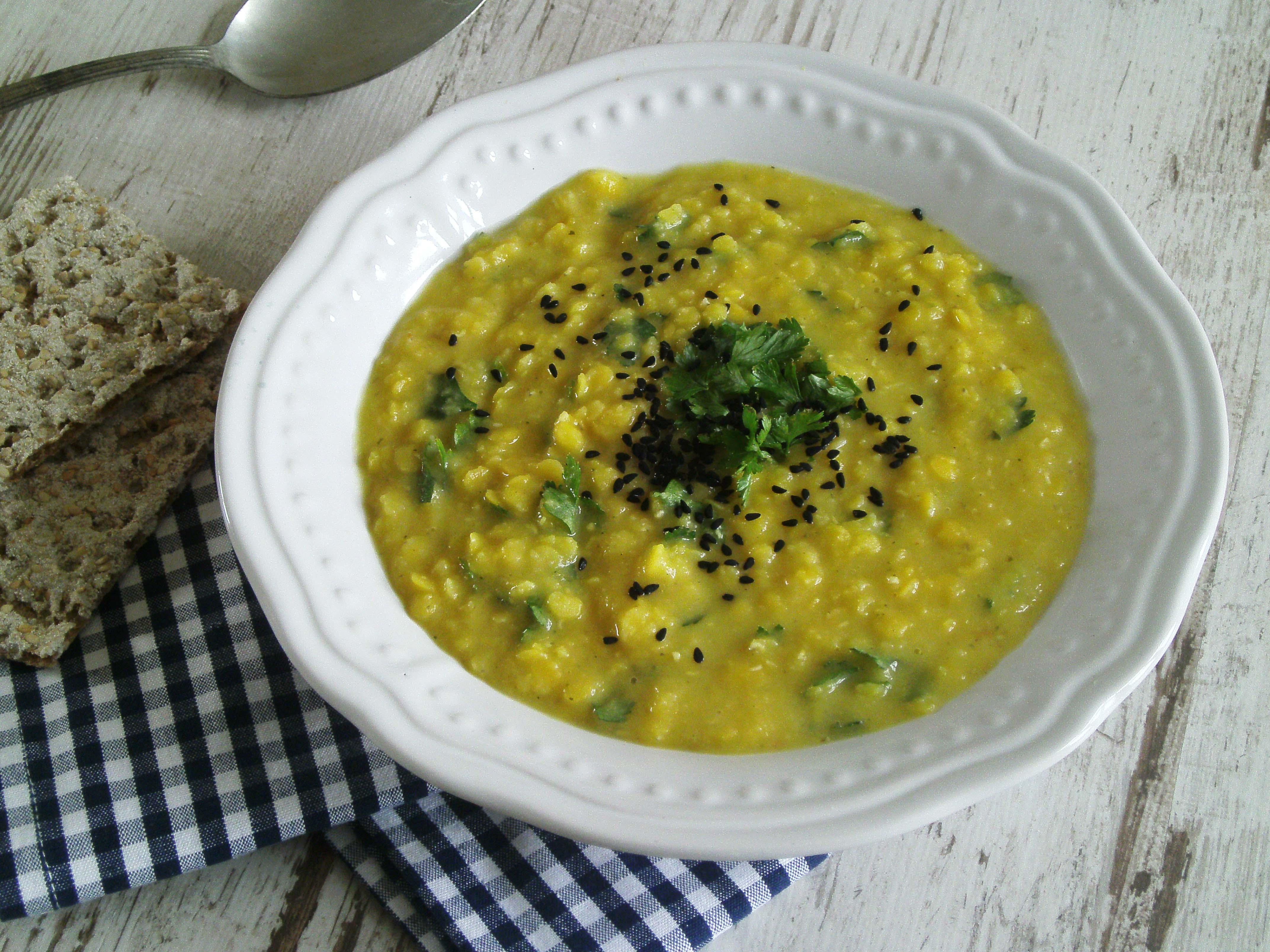 Rezepte - Suppen & Eintopf - gelbe Linsensuppe - glutenfrei, vollwertig & clean eating
