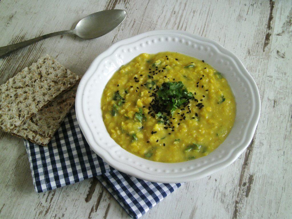 Rezepte - Suppe & Eintopf - gelbe Linsensuppe - clean eating glutenfrei