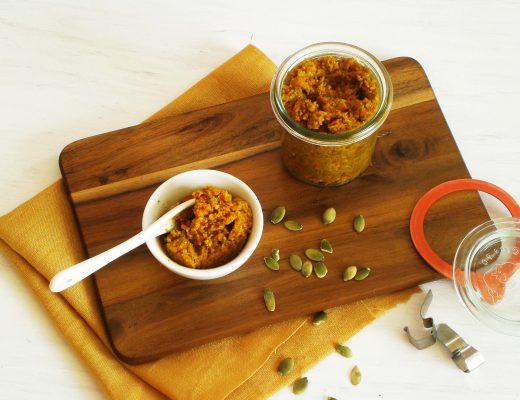 Rezepte - Dips & Aufstriche - Kürbis-Pesto - vollwertig & glutenfrei