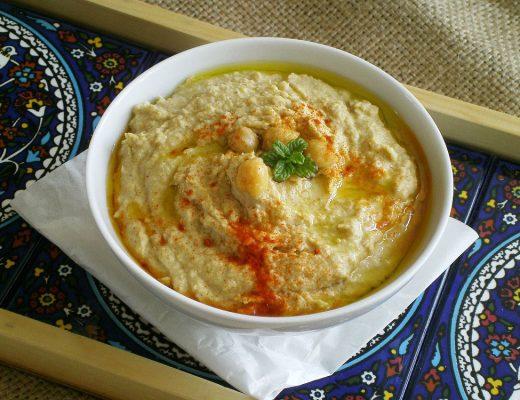 Rezepte - Dips & Aufstriche - klssischer Hummus - vegan, vollwertig & glutenfrei