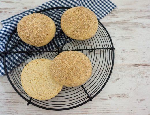 Rezepte - Brötchen - Burgerbrötchen - glutenfrei - clean baking - kaseinfrei