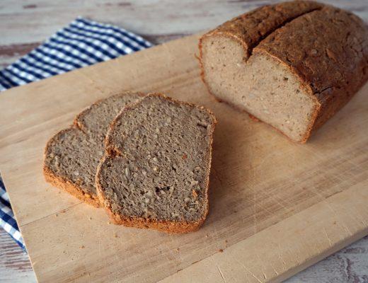 Rezepte - Brot - Sonnenblumenkernbrot - glutenfrei - clean eating - vegan