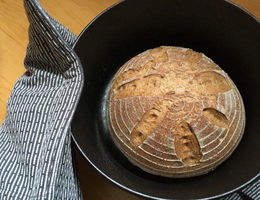 Rezept für glutenfreies Graubrot mit Teffmehl, Sauerteig - ohne Xanthan gesund glutenfrei backen vegan vollwertig pflanzlich