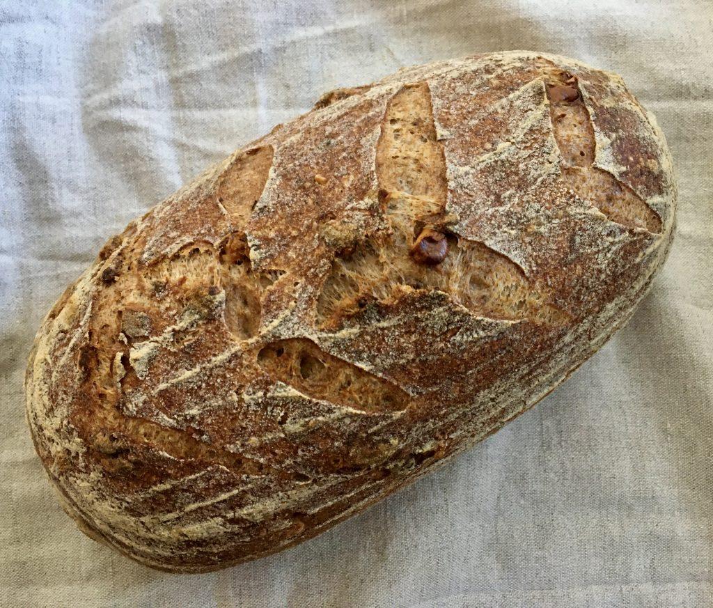 Brot - Walnussbrot - glutenfrei - pflanzlich - vegan - Sauerteig - gesund backen - Buchweizen
