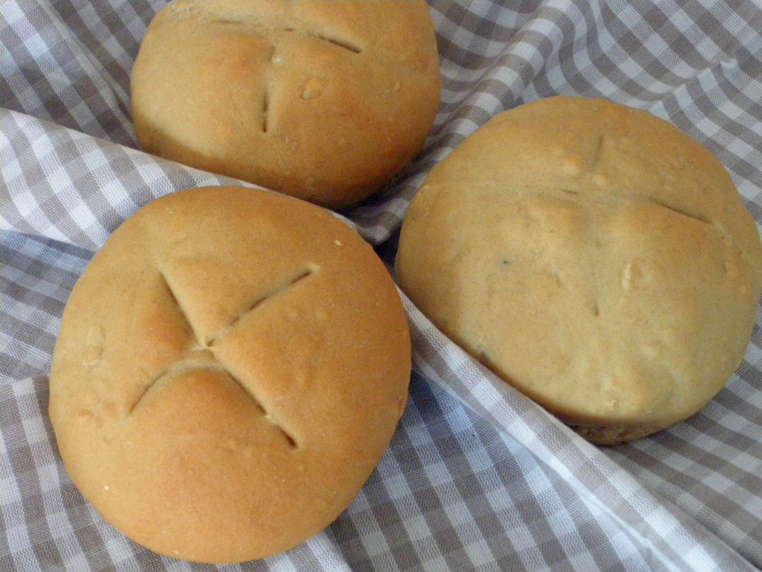 Rezepte - Brötchen - Frühstücksbrötchen - weizenfrei