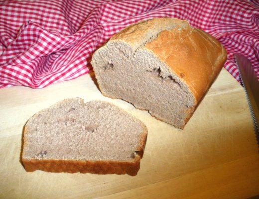Rezepte - Brot - Kastanienbrot - weizenfrei - vegan - backen