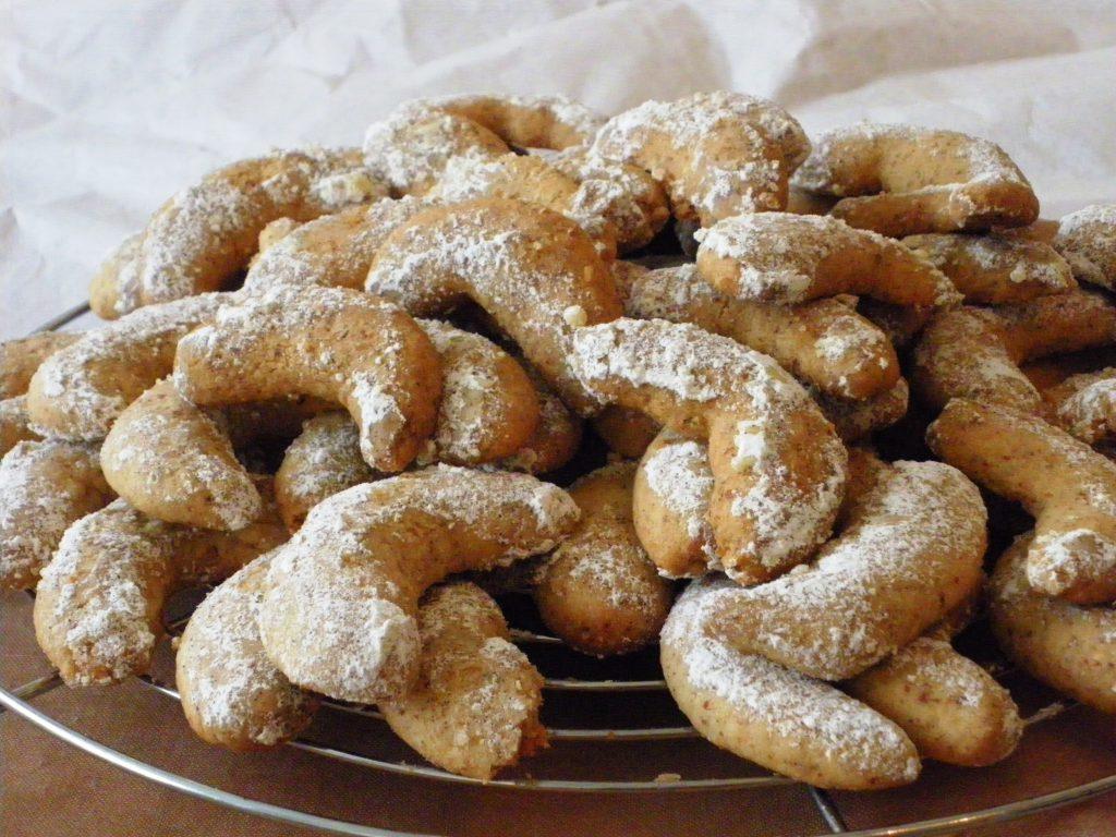 Rezepte - Plätzchen - Weihnachten - Vanillekipferl - vegan - weizenfrei - backen