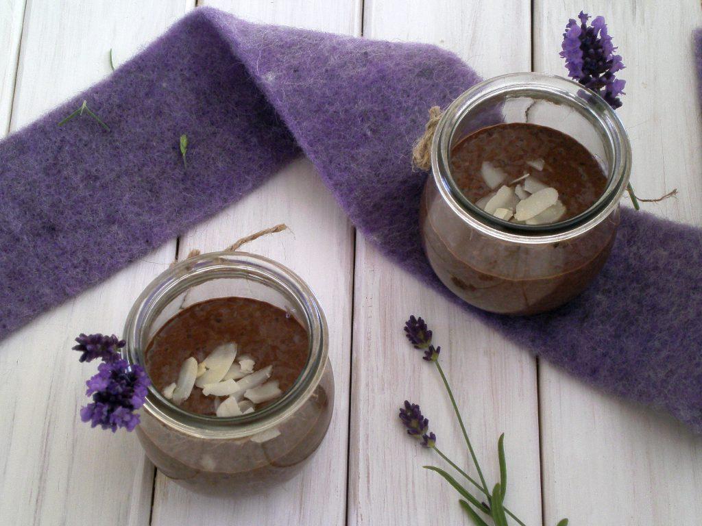 Rezepte - Nachtisch - Dessert - Schoko-Chia-Pudding - weizenfrei - sojafrei - vegan