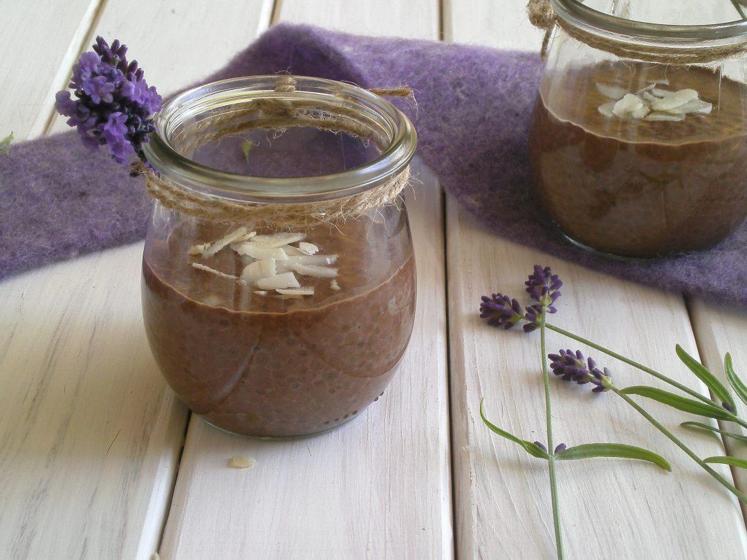 Rezepte - Pudding - Schoko-Chia-Pudding - sojafrei - milchfrei