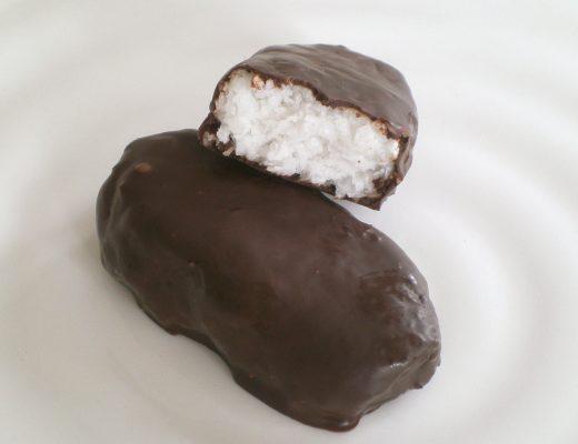 Rezepte - Snacks - süße Knabbereien - Bounty - Schoko-Kokos-Riegel - gutenfrei - vegan - essen