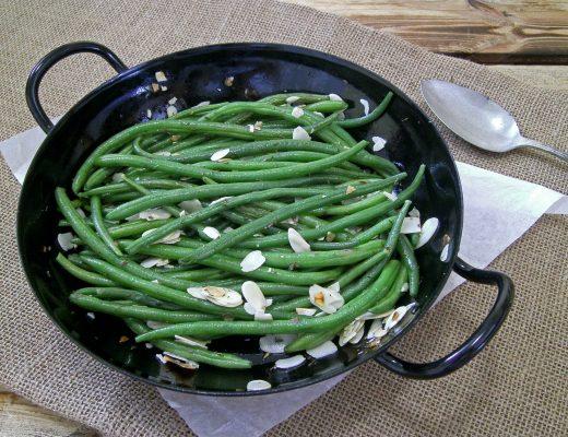 Rezepte - Gemüse - Beilagen - grüne Bohnen mit frischen Chilli - vegan - glutenfrei - kochen