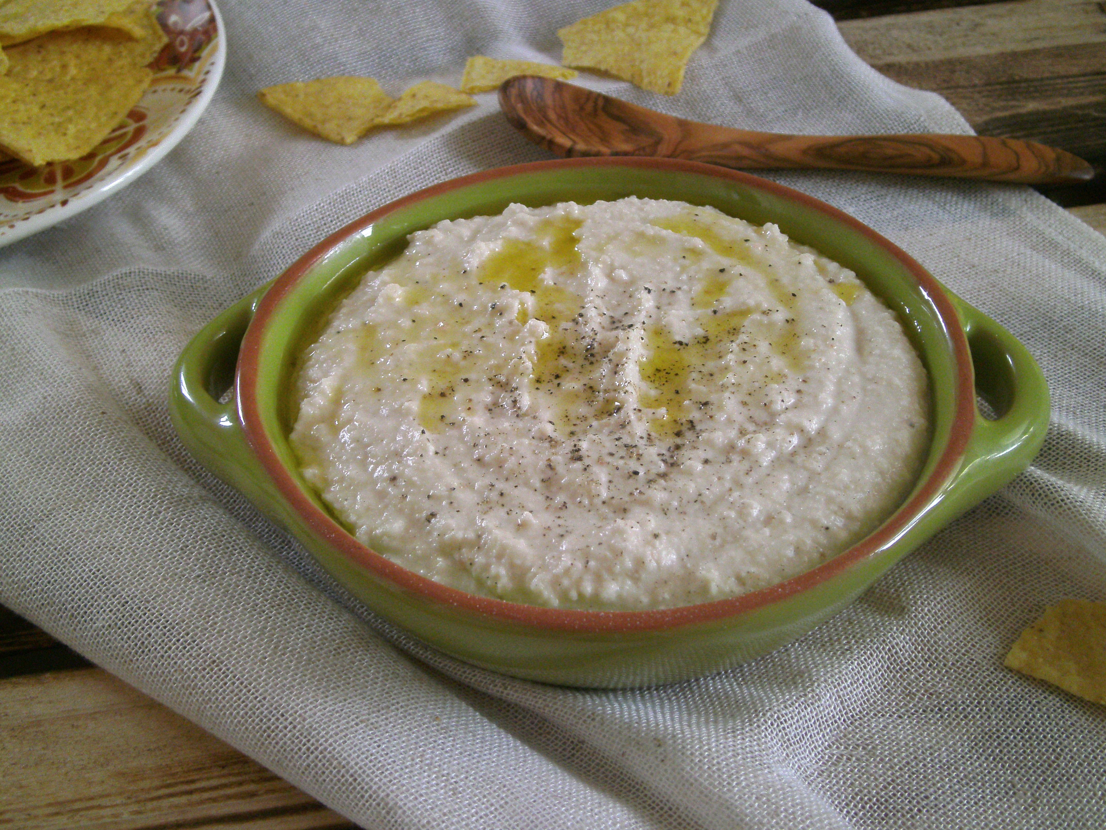 Rezepte -Dips - Aioli - Knobisauce - weiße Bohnen - vegan - glutenfrei - essen