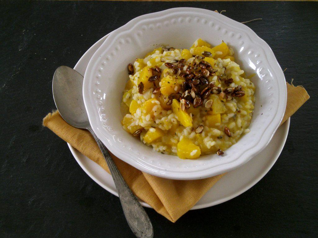 Rezept - Hauptspeisen - Reis - Kürbis-Risotto - glutenfrei - vegan - kochen