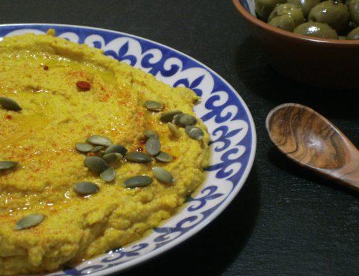 Rezepte - Dips - Kürbishummus - vegan - glutenfrei - kochen