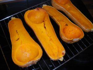 Rezept für Kürbispüree aus dem Ofen - glutenfrei & vegan