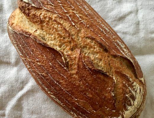 Rezepte - Backen - Brot - Sauerteigbrot ohne Hefe