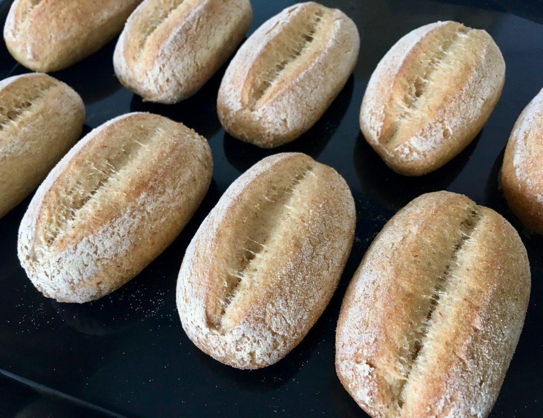 Rezepte - Brot & Brötchen - glutenfreie Schnittbrötchen mit Sauerteig